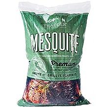 Traeger PEL305 Mesquite Barbeque Pellets, 20-Pound