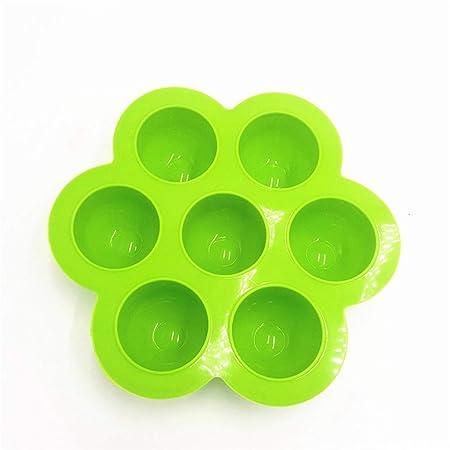 LASTARTS Molde de huevo cocido al vapor de silicona con ...