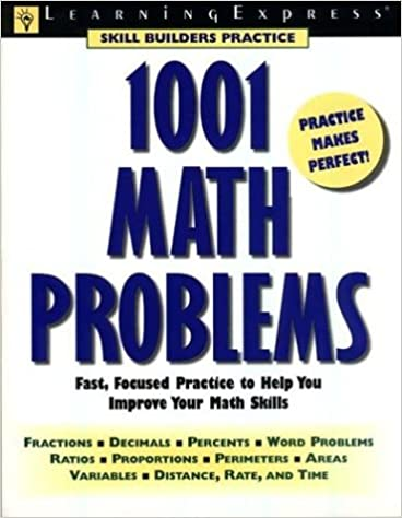 1001 math problems learning express editors 9781576852002 amazon 1001 math problems learning express editors 9781576852002 amazon books fandeluxe Image collections
