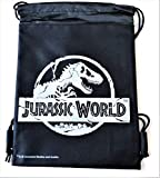 Jurassic World Drawstring Backpack Sling Tote School Sport Gym Bag (Silver) Review