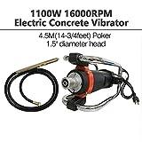 ZXMOTO Electric Concrete Vibrator 110V 16000RPM