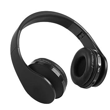 VBESTLIFE Auriculares Gaming Estéreos de Alta Fidelidad Inalámbricos Plegables de Bluetooth4.1, Auricular del Juego con Micrófono para PS4 (Negro): ...