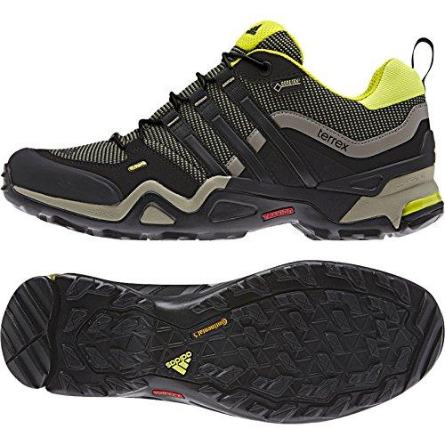Scarpa Da Trekking Adidas Outdoor Terrex Fast X Gtx - Mens Base Verde / Nero / Semi Giallo Solare 7