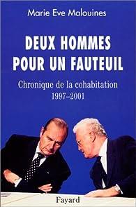 Book's Cover ofDeux hommes pour un fauteuil : Chronique de la cohabitation 1997-2001