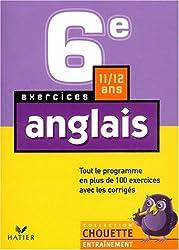 Chouette Entraînement : Anglais, 6e - 11-12 ans (+ corrigés)