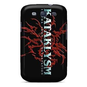 Samsung Galaxy S3 DGk8539NQIS Provide Private Custom Nice Kataklysm Band Image Scratch Protection Hard Phone Case -LauraAdamicska