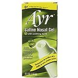 Ayr Saline Nasal Gel with Aloe - 0.5 oz, Pack of 5
