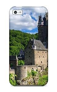 fenglinlinFrank J. Underwood's Shop New Premium Flip Case Cover Eltz Castle Skin Case For Iphone 5c