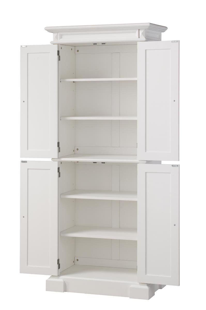 Uncategorized Kitchen Pantry Storage Cabinet amazon com home styles 5004 692 americana pantry storage cabinet white finish kitchen dining