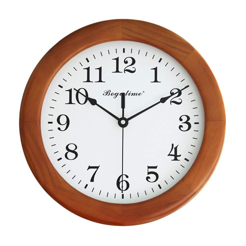 Wanduhr- Batterie- / Quarz, runde Digitale stille Uhr für Küche/Schlafzimmer/Garten/Wohnzimmer/Arbeitszimmer/Büro-Uhr (größe : 10in/25cm)