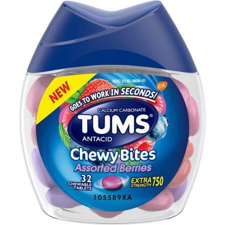 Tums Antacid Chewy Bites, Assorted Berri…