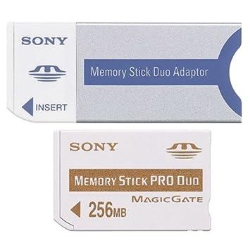 Amazon.com: Sony msxm256 a Pro Duo 256 MB Memory Stick ...