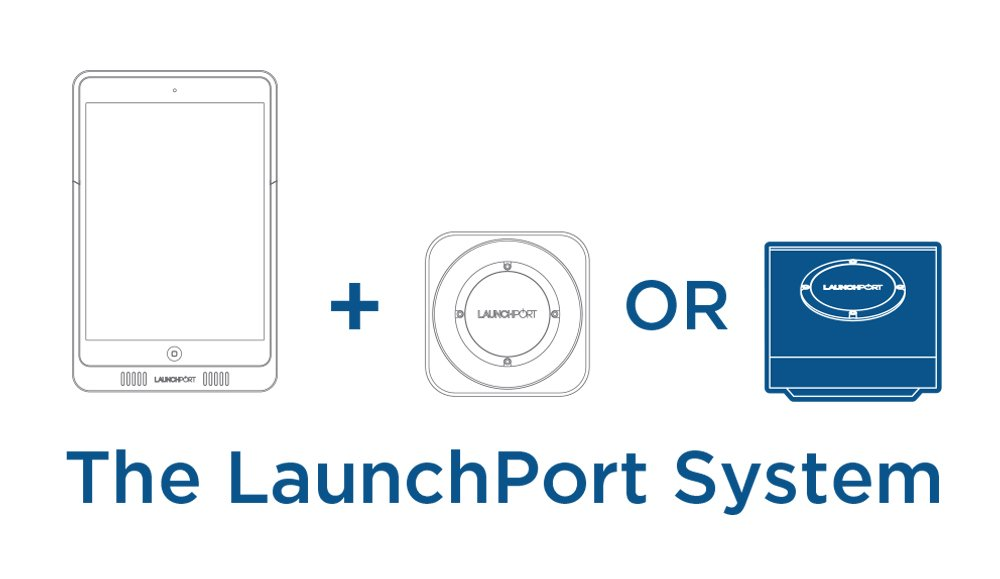 iPort LaunchPort BaseStation - Silver by iPort