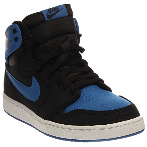 Nike Air Jordan 1 Retro Ko High Og (nero / Nero-blu Sport)