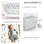 Baby-Fitted-Crib-Mattress-Sheets-1-Pack-by-Cuddly-Cubs-Toddler-Bed-Sheet-Dinosaur-Crib-Sheets-for-Boy-or-Girl-Stretchy-Jersey-Cotton