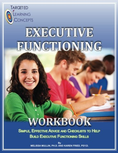 Executive Functioning Workbook: Black and White Version