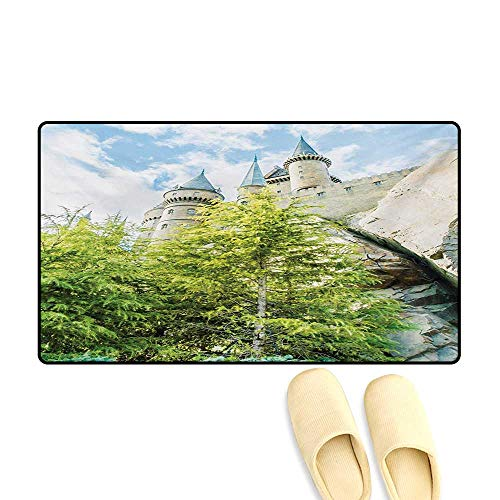 Bath Mat,Witchcraft School and Wizard Castle in Woods for sale  Delivered anywhere in USA
