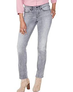 NYDJ Womens Petite Size Sheri Slim Faux Suede Pants Not Your Daughter/'s Jeans Women/'s Collection PHMJ10T