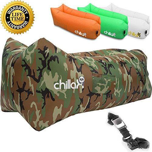 ChillaX Inflatable Lounger Securing Travelling product image