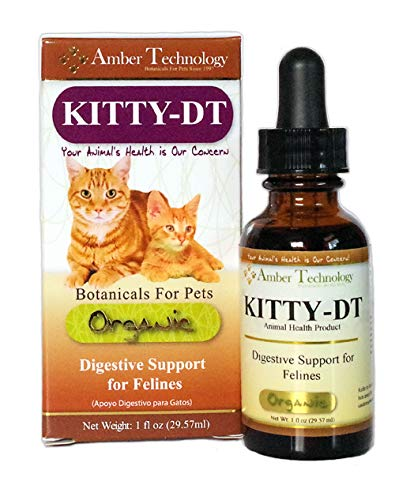 Kitty-DT Botanical for pets-Digestive Support for Felines,1 oz