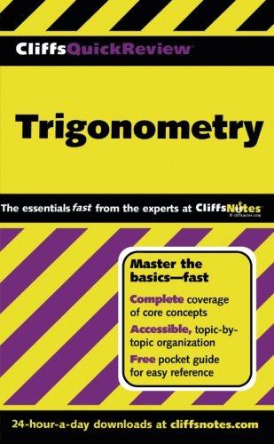 CliffsQuickReview Trigonometry (Cliffs Quick Review (Paperback))