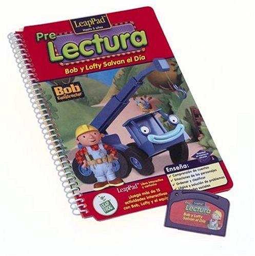 LeapFrog Enterprises Spanish Pre-K & Kindergarten LeapPad Book: Bob and Lofty Save The Day