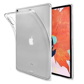 Funda iPad Pro 12.9 2018,Vicstar TPU Transparente Back Cover Case Flexible Silicona Fundas para iPad Pro 12.9 2018