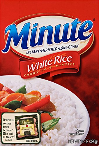 minutes rice - 8