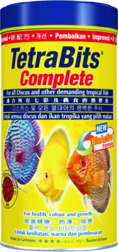 (Tetra Bits Complete 300ml Tropical Fish Food Discus Cichlid Guppy Tetrabits)