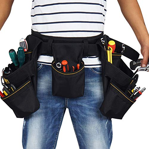 quality | Tool Bags | Oxford Cloth Tool Belts Waist Bag Tool Bag Electrician Work Bags for or Hammer Screwdriver Wrench Pliers | by EGALIVE | 1 PCs -