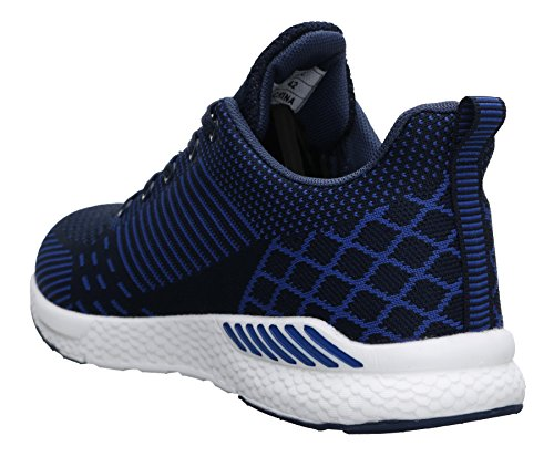 Mixte Mode De Couleurs Bleu Jogging 1830 6 Poids Joomra Chaussures Léger Adulte xAXwfndqT