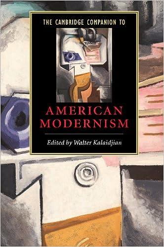 ``NEW`` The Cambridge Companion To American Modernism (Cambridge Companions To Literature). lunch Ciclo TEORIA Ground floor Since general