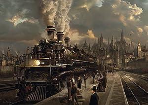 Schmidt Spiele Puzzle 58206 - Lokomotive, 1000 Teile