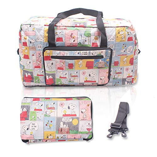 Finex Snoopy Foldable Easy-to-carry Travel Bag for airplanes with adjustable strap - Random Color -