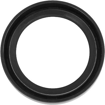 X AUTOHAUX 42mm x 62mm x 10mm Negra Cubierta Doble Labio TC Aceite Eje Sello para Coche