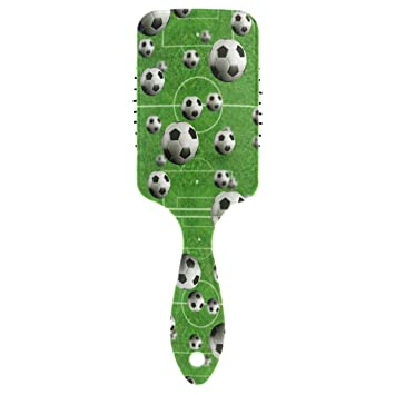 Amazon.com : Naanle Sport Football Paddle Hair Brush with Grip ...