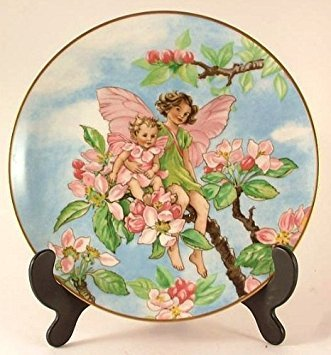 Heinrich Flower Fairies Collector plate - The Apple Blossom Fairy - by Cicely Mary Barker - CP985