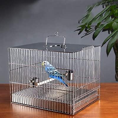 Jaula de pájaro de tres propósitos Placa de acero inoxidable ...