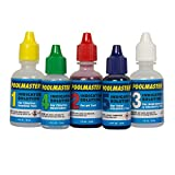 Poolmaster 23227 Replacement Indicator Solutions #1 - #5