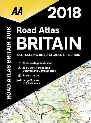 Aa Maps Uk 2018 Road Atlas Britain: AA Publishing: 9780749578619: Amazon. Aa Maps Uk