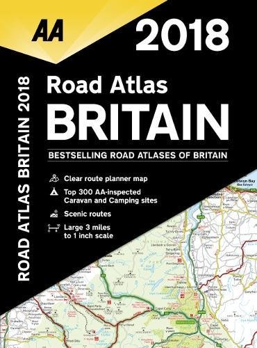 2018 Road Atlas Britain
