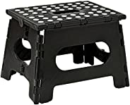Folding Step Stool - The Lightweight Step Stool is Sturdy Enough to Support Adults and Safe Enough for Kids. O