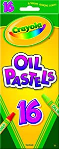 Crayola; Oil Pastels; Art Tools; 16 ct.; Rich Colors; Great for Blending Colors