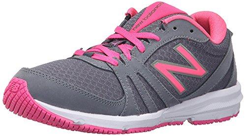 New Balance Womens 577v3 Cross Trainer Shoe, Grey/Pink, 38 B(M) EU/5.5 B(M) UK