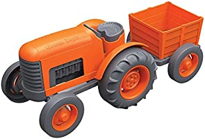 Save on Green Toys Tractor Vehicle, Orange
