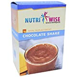 NutriWise – Chocolate Meal Replacement Protein Shakes (7/box) For Sale