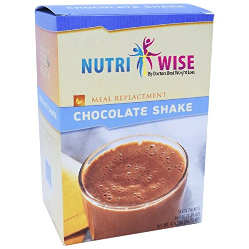 NutriWise - Chocolate Meal Replacement Protein Shakes (7/box)