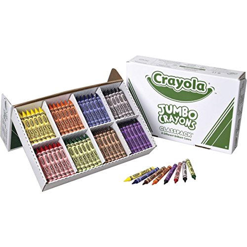 Crayola Jumbo Sized Crayons Classroom Pack