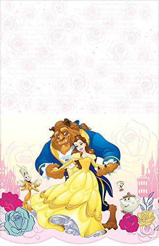 Amscan Beauty and The Beast Plastic Table Cover (Each) -