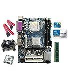 Intel Core 2 Duo E8400 3.0 GHZ + Intel G41 Motherboard + 2 GB DDR3 RAM